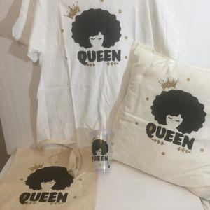Queen T-Shirt gift set L
